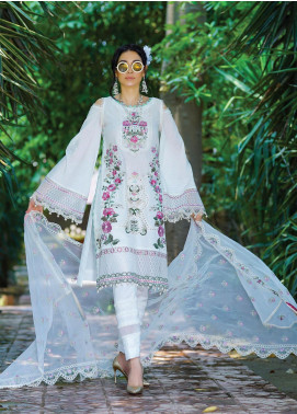 Nisa by Anamta Embroidered Lawn Unstitched 3 Piece Suit ANT20-N2 7 NOOR.UN.NISA - Eid Collection
