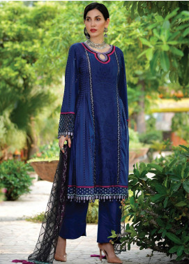 Nisa by Anamta Embroidered Lawn Unstitched 3 Piece Suit ANT20-N2 8 ZAIB.UN.NISA - Eid Collection