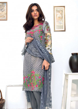 Nisha Bawany by Regalia Textiles Embroidered Lawn Unstitched 3 Piece Suit NB19L 6 - Spring / Summer Collection