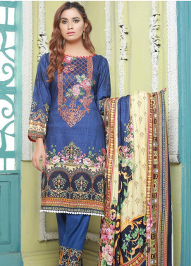 Master Fabrics Printed Jacquard Unstitched 3 Piece Suit MF20-DS8 19753 - Formal Collection
