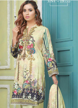 Master Fabrics Printed Jacquard Unstitched 3 Piece Suit MF20-DS8 19755 - Formal Collection