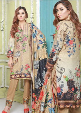 Master Fabrics Printed Jacquard Unstitched 3 Piece Suit MF20-DS8 19758 - Formal Collection