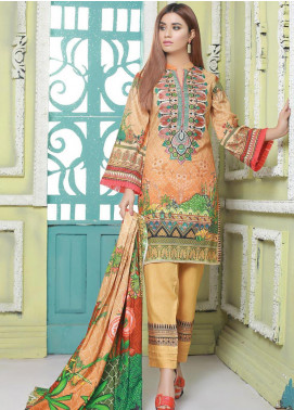 Master Fabrics Printed Jacquard Unstitched 3 Piece Suit MF20-DS8 19761 - Formal Collection