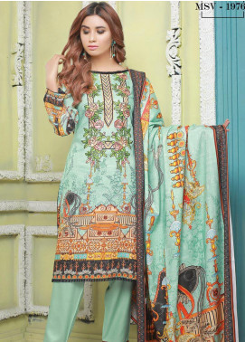 Master Fabrics Printed Jacquard Unstitched 3 Piece Suit MF20-DS8 19766 - Formal Collection