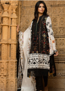 Noor-e-Fizzata Embroidered Viscose Unstitched 3 Piece Suit NF19V 5 - Winter Formal Collection