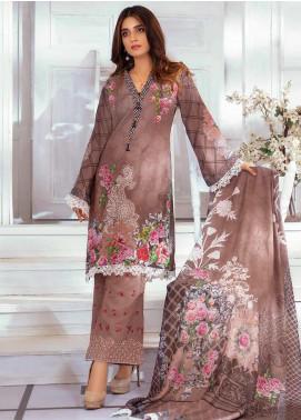 Noor Jahan Embroidered Karandi Unstitched 3 Piece Suit NJ19WK 5 - Winter Collection