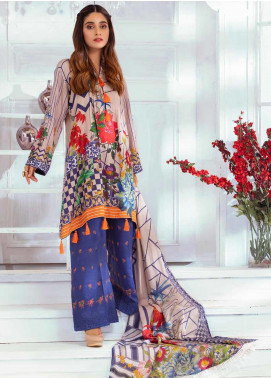 Noor Jahan Embroidered Karandi Unstitched 3 Piece Suit NJ19WK 6 - Winter Collection