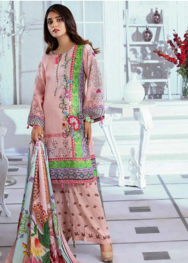 Noor Jahan Embroidered Karandi Unstitched 3 Piece Suit NJ19WK 9 - Winter Collection