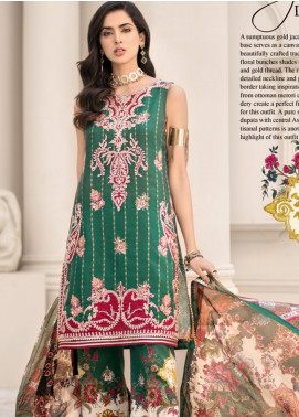 Noor by Saadia Asad Embroidered Jacquard Unstitched 3 Piece Suit SA20NL D9 A - Luxury Collection