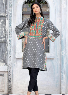 Takhleek By Hijab Omer Embroidered Jacquard Stitched 2 Piece Suit TK20NR 21WDE2P12