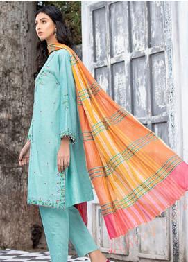 Takhleek By Hijab Omer Embroidered Karandi Stitched 3 Piece Suit TK20NR 21WDE3OP03
