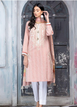 Takhleek By Hijab Omer Embroidered Jacquard Stitched 3 Piece Suit TK20NR 21WDE3P01