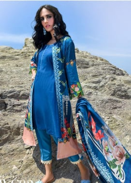 Nova by Mystique Embroidered Viscose Unstitched 3 Piece Suit MYS20N 02 - Winter Collection