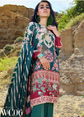 Nova by Mystique Embroidered Viscose Unstitched 3 Piece Suit MYS20N 06 - Winter Collection