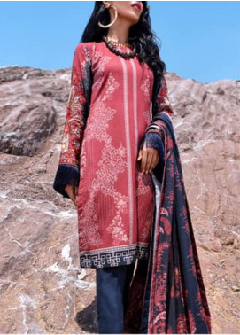 Nova by Mystique Embroidered Viscose Unstitched 3 Piece Suit MYS20N 10 - Winter Collection