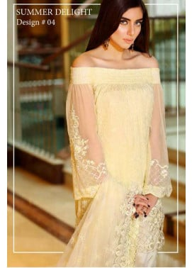 Noor by Saadia Asad Embroidered Chiffon Unstitched 3 Piece Suit NS16E2 04