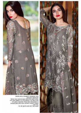 Noor by Saadia Asad Embroidered Chiffon Unstitched 3 Piece Suit NS16E2 08