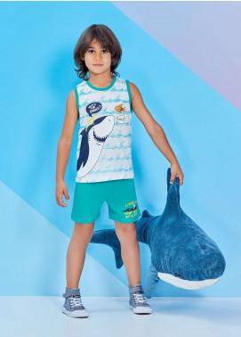 Cotton Net Kids Nightwear 2 Piece NS18K 1218 FEROZI