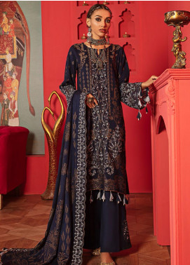 Nureh Embroidered Leather Unstitched 3 Piece Suit N20LJ 10 - Winter Collection