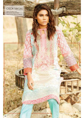 Oaks Embroidered Lawn Unstitched Kurtis OK17L 144A