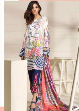 Orient Textile Embroidered Lawn Unstitched 3 Piece Suit OP17E 166A