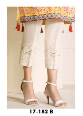 Orient Textile Embroidered Lawn Unstitched Trouser OP17E 182B
