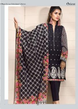Orient Textile Embroidered Lawn Unstitched 3 Piece Suit OP17E 189A