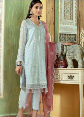 Opal by Panache Embroidered Chiffon Unstitched 3 Piece Suit PCH20O 03 - Luxury Collection