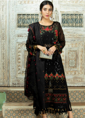 Opal by Panache Embroidered Chiffon Unstitched 3 Piece Suit PCH20O 05 - Luxury Collection