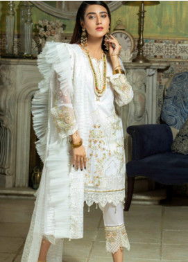 Opal by Panache Embroidered Chiffon Unstitched 3 Piece Suit PCH20O 06 - Luxury Collection
