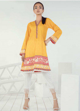 Orient Textile Embroidered Lawn Unstitched Kurties OT19-L3 148A - Mid Summer Collection