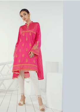 Orient Textile Embroidered Lawn Unstitched Kurties OT19-L3 149A - Mid Summer Collection