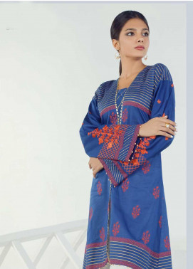 Orient Textile Embroidered Lawn Unstitched Kurties OT19-L3 149B - Mid Summer Collection