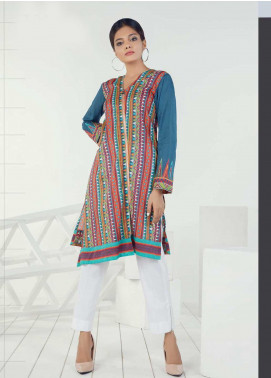 Orient Textile Embroidered Lawn Unstitched Kurties OT19-L3 150A - Mid Summer Collection