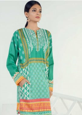 Orient Textile Embroidered Lawn Unstitched Kurties OT19-L3 151B - Mid Summer Collection