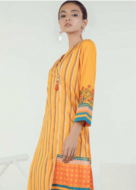 Orient Textile Embroidered Lawn Unstitched Kurties OT19-L3 155B - Mid Summer Collection