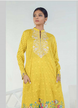 Orient Textile Embroidered Lawn Unstitched Kurties OT19-L3 160A - Mid Summer Collection