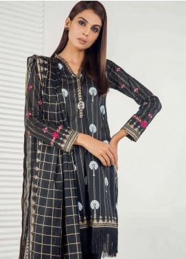 Orient Textile Embroidered Lawn Unstitched 3 Piece Suit OT19-L3 163A - Mid Summer Collection