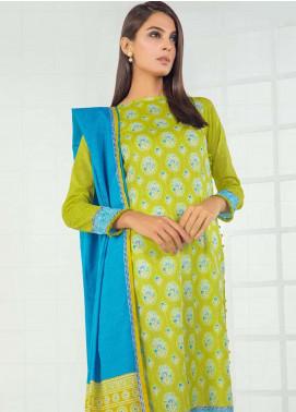 Orient Textile Printed Lawn Unstitched 3 Piece Suit OT19-L3 166B - Mid Summer Collection