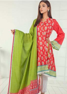 Orient Textile Printed Lawn Unstitched 3 Piece Suit OT19-L3 166C - Mid Summer Collection