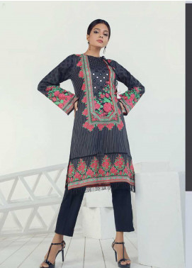 Orient Textile Embroidered Lawn Unstitched Kurties OT19-L3 167A - Mid Summer Collection
