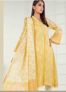 Orient Textile Printed Lawn Unstitched 3 Piece Suit OT19-L3 168B - Mid Summer Collection
