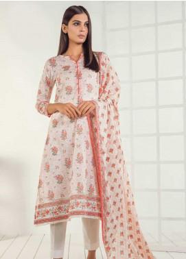 Orient Textile Printed Lawn Unstitched 3 Piece Suit OT19-L3 169B - Mid Summer Collection