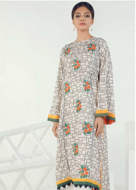 Orient Textile Embroidered Lawn Unstitched Kurties OT19-L3 181B - Mid Summer Collection