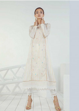 Orient Textile Embroidered Lawn Unstitched Kurties OT19-L3 189B - Mid Summer Collection