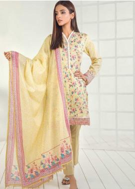 Orient Textile Printed Lawn Unstitched 3 Piece Suit OT19-L3 193A - Mid Summer Collection