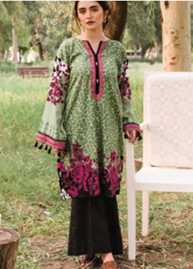 Orient Textile Embroidered Cottel Unstitched Kurties OT20MW A-151 - Winter Collection