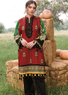 Orient Textile Embroidered Cottel Unstitched Kurties OT20MW A-152 - Winter Collection