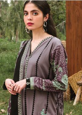 Orient Textile Embroidered Cottel Unstitched 2 Piece Suit OT20MW A-167 - Winter Collection