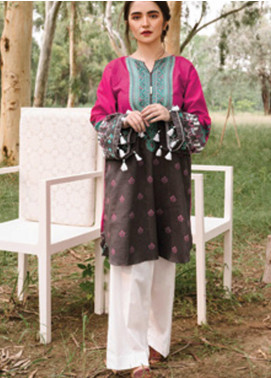 Orient Textile Embroidered Cottel Unstitched Kurties OT20MW B-150 - Winter Collection